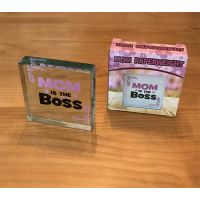 Mom is Boss Paperweight - Mom Gifts - Buy Holiday Shop Gifts