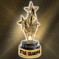 Star Grandpa Trophy - Grandpa Gifts - Buy Holiday Shop Gifts