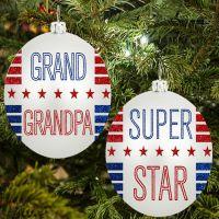 Super Grandpa Ornament - Grandpa Gifts - Buy Holiday Shop Gifts