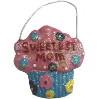 Sweetest Mom Ornament - Mom Gifts - Buy Holiday Shop Gifts