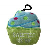 Sweetest Sister Plush Cupcake