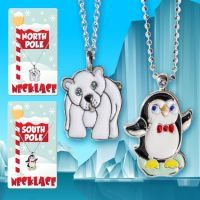 Holiday Necklace (Penguin Polar Bear) - Christmas - Holiday Gifts - Buy Holiday Shop Gifts