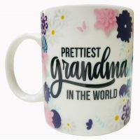 Prettiest Grandma Mug - Grandma Gifts - Buy Holiday Shop Gifts