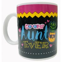 Coolest Aunt Mug - Aunt Gifts - Buy Holiday Shop Gifts